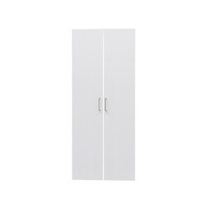 タナリオ TNL-1559専用扉 取付部品付き 扉高さ145.1cm 両開き左右セット ホワイト 白木目 受注生産 [TNL-EMD1559 WH]