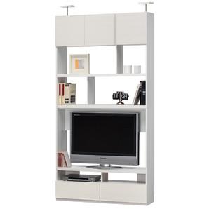 壁面テレビボード リビュアル [LVA-2412TV WH]