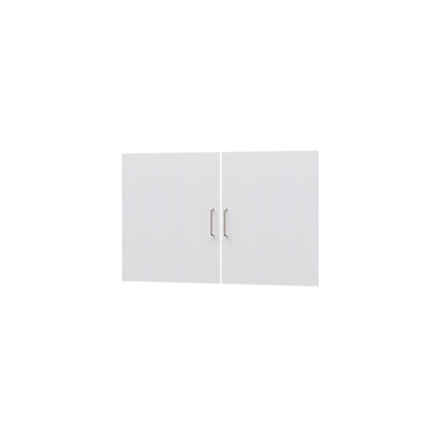 タナリオ TNL-6087専用扉 取付部品付き 扉高さ55.1cm 両開き左右セット ホワイト 白木目 受注生産 [TNL-EMD6087 WH]