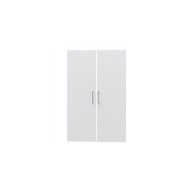 タナリオ TNL-9059専用扉 取付部品付き 扉高さ85.1cm 両開き左右セット ホワイト 白木目 受注生産 [TNL-EMD9059 WH]