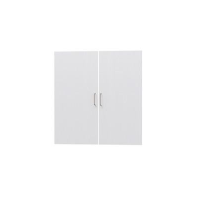 タナリオ TNL-9087専用扉 取付部品付き 扉高さ85.1cm 両開き左右セット ホワイト 白木目 受注生産 [TNL-EMD9087 WH]