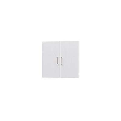 タナリオ TNL-6059専用扉 取付部品付き 扉高さ55.1cm 両開き左右セット ホワイト 白木目 受注生産 [TNL-EMD6059 WH]